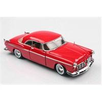 Motomax Kırmızı 1955 Chrysler C300 1/24 Die Cast Model Araç