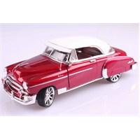 Motomax 1950 Chevy Bel Air 1/18 Die Cast Model Araç
