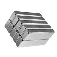 Neodyum Mıknatıs Blok 40x10x5 mm (4'lü Paket)