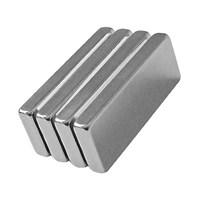 Neodyum Mıknatıs Blok 40x15x5 mm (3'lü Paket)
