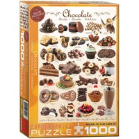 1000 Parçalık Çikolata Puzzle Eurographics