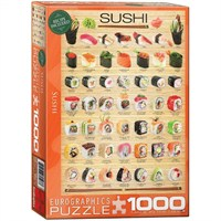 Eurographics Puzzle 1000 Parça Sushi