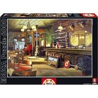 Educa 6000 Parça Puzzle Big Sky Saloon