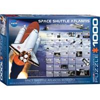 Eurographics 1000 Parça Atlantis Uzay Mekiği Puzzle