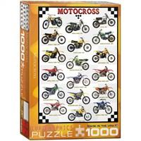 Eurographics 1000 Parça Motocross Puzzle
