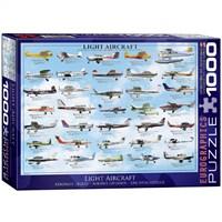 Eurographics Puzzle 1000 Parça General Light Aviation
