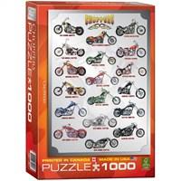 1000 Parça Choppers Puzzle Eurographics 6000-1021