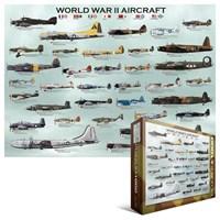 İkinci Dünya Savaşı Uçakları Eurographics 1000 Parça Puzzle