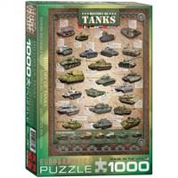 Eurographics Puzzle 1000 Parça Tankların Tarihi