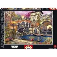 Educa 3000 Parça Puzzle Venedik'te Romantizm