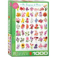 Eurographics 1000 Parça Puzzle Çiçeklerin Dili