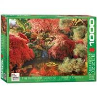 Eurographics 1000 Parça Butchart Bahçeleri - Japon Bahçesi Puzzle