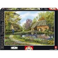 Educa 5000 Parça Puzzle Meadow Cottages