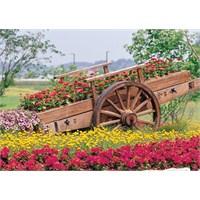 Puzz 500 Parça Yapboz Çiçek Arabası Puzzle