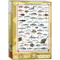 Eurographics 1000 Parça Akdeniz Balıkları 6000-0315