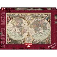 Art Puzzle 1500 Parçalık Dünya Haritası Puzzle