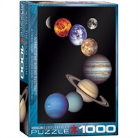 Eurographics Nasa - Güneş Sistemi 1000 Parça Puzzle