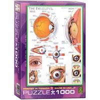 Eurographics Puzzle 1000 Parça İnsan Vücudu (Göz)
