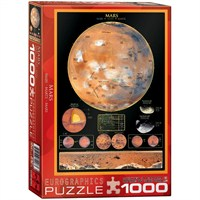 Eurographics Bilimsel Puzzle 1000 Parça Mars