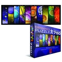 Eurographics 750 Parça Panorama Güneş Sistemi Puzzle