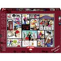 Art Puzzle 1500 Parça Moda Aşkına Puzzle