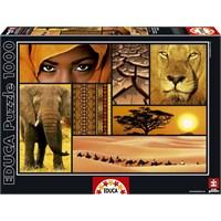 Educa Puzzle 1000 Parça Colours Of Afrıca