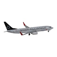 Tk Collection Star Alliance B737/800 1/400 Model Uçak