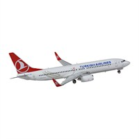 Tk Collection B737/800 1/400 Model Uçak
