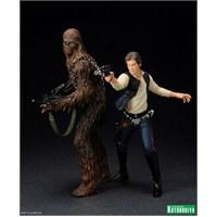 Han Solo & Chewbacca 1/10 Artfx+ Statue