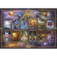 Anatolian Burçlar - 1500 Parça Puzzle