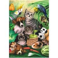 Anatolian Büyülü Hayvanlar - 260 Parça Puzzle