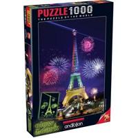 Anatolian Eyfel Kulesi - 1000 Parça Neon Puzzle