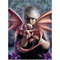 Ravensburger Dragon Kız - 500 Parça Puzzle