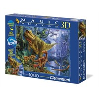 Clementoni Magic Puzzle 3D Dinosaur Valley - 1000 Parça Puzzle