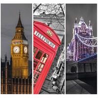 Clementoni Londra - 3 X 500 Parça Puzzle