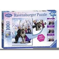 Ravensburger Wd Frozen Difference - 100 Parça Xxl Puzzle