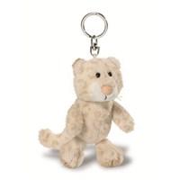 Nici Peluş Anahtarlık Bean Bag Kar Leoparı 10 cm
