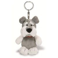 Nici Peluş Anahtarlık Bean Bag Köpek Schnauzer 10 cm