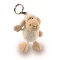 Nici Peluş Anahtarlık Bean Bag Beyaz Kuzu 10 cm
