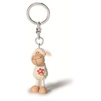 Nici Plastik Anahtarlık Keyfriends JollyBeyaz 5 cm
