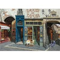 Art Puzzle Ahşap Puzzle 1000 Parça Cafe Leon