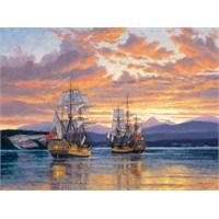 Clementoni Puzzle Captain Vancouver (500 Parça)