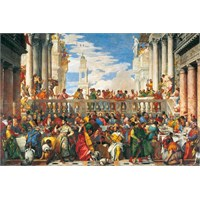 Clementoni Puzzle Marriage In Cana, Veronese (4000 Parça)