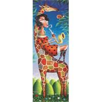 Gold Puzzle 1000 Parça Zürafa için Caz Panorama Puzzle