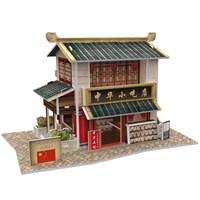 Cubic Fun 3D 30 Parça Puzzle Chinese Snack Shop