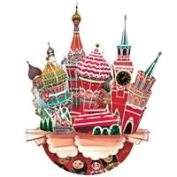 Cubic Fun 3D 68 Parça Puzzle Cityscape - Moskova