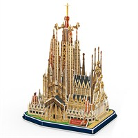 Cubic Fun 194 Parça 3D Puzzle Iglesia De La Sagrada Familia