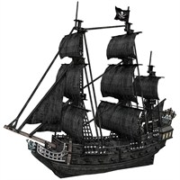 Cubic Fun 3D 308 Parça Puzzle The Queen Anne's Revenge