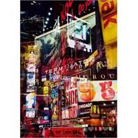 Ravensburger 1000 Parça New York Neon Işıklar Puzzle