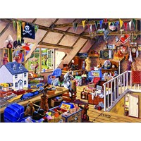 Ravensburger 1000 Parça Çatı Katı Puzzle